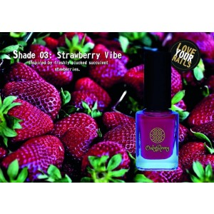 Strawberry Vibe Nail Polish SV01
