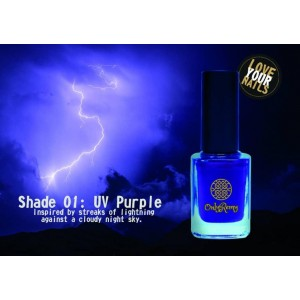 UV Purple Nail Polish UP01