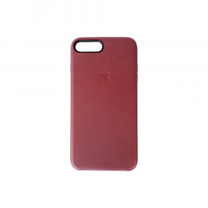 iPhone 7 Plus Leather PU Back Case (Red)