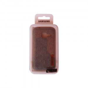 Samsung J1 Mini Jeans Back Case (Grey)