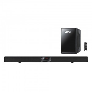 JVC 2.1 BLUETOOTH SOUND BAR WITH WIRELESS SUBWOOFER