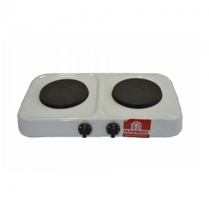 KANGO DOUBLE HOT PLATE KAN049 - SOLID - SMALL