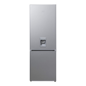 KIC KBF634/1 ME WATER Bottom Freezer Fridge 314L with Water Dispenser (Metallic)