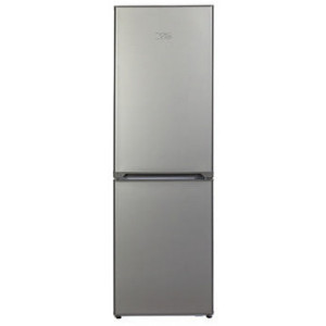 KBF638ME KIC Bottom Freezer Fridge 344L Metalic