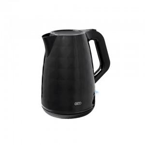 DEFY PLASTIC KETTLE BLACK 1.7L WK1558B
