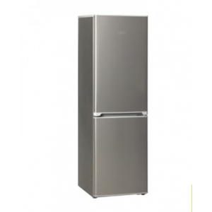 KIC KBF525/1 ME Bottom Freezer Fridge 239L Metalic