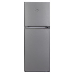 KIC KTF523/1 ME 215L Top Freezer Fridge (Metalic)