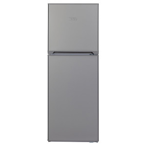 KIC KTF518/1 ME 170L Top Freezer Fridge (Metalic)