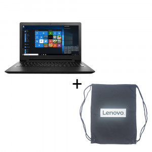 Lenovo IdeaPad 110 INTEL N3060,2GB,500GB 80T7005QSA Laptop (DOS) with Carry Bag