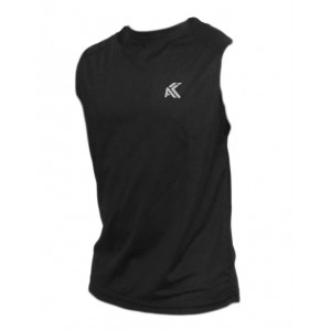 Men's Moisture Management Vest(Black)