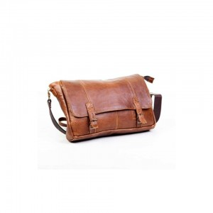 Mirelle Genuine Leather Satchel Style Laptop Bag