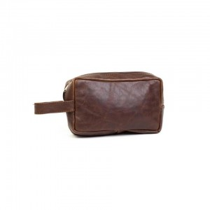 Mirelle Genuine Leather Toiletry Travel Bag