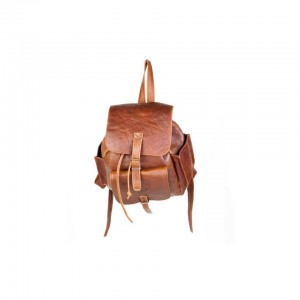 Mirelle Genuine Leather Tourist Backpack