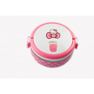 Hello Kitty Single layered stainless steel insulated food warmer