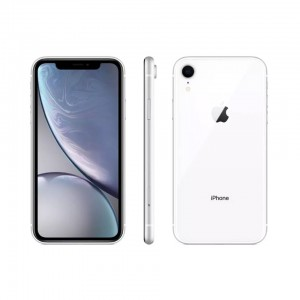 APPLE - iPhone XR White 64 GB - MRY 52 ZD / A