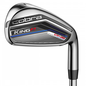 Cobra King F7 One Forged Irons Steel, 4-GW