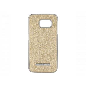 Swarovski Crystal Protective Cover for Galaxy S6 (Gold)