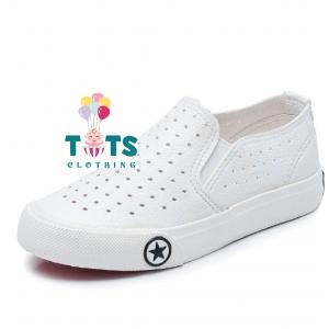 Boy White Shoes