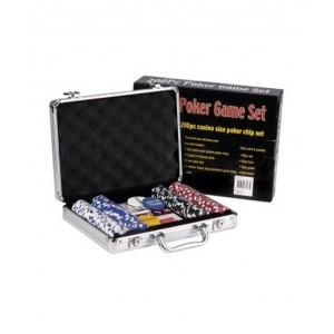 200pc Poker Game Set