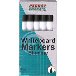 Whiteboard Markers (Slimline Tip - Box 10)