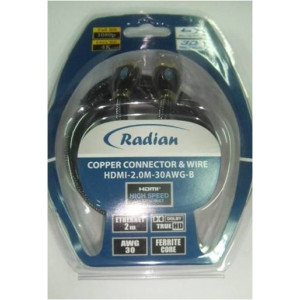 Radian Cable HDMI-1.0M-30AWG-P