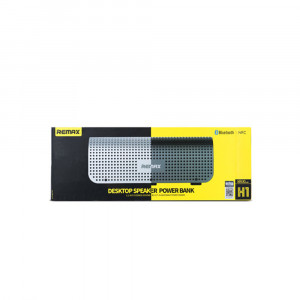 Remax H1 Desktop Speaker + 8800 Mah Power Bank