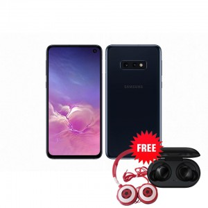 Samsung Galaxy S10e 128 GB (Prism Black) with Free Samsung Buds and Soccer Headphones Worth ZMW 1650
