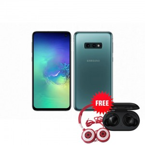 Samsung Galaxy S10e 128 GB (Prism Green) with Free Samsung Buds and Soccer headphones TTS (Red) ZMW 1650