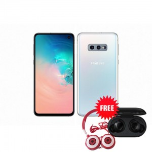 Samsung Galaxy S10e 128 GB (Prism White) with Free Samsung Buds and Soccer Headphone Worth ZMW 1650