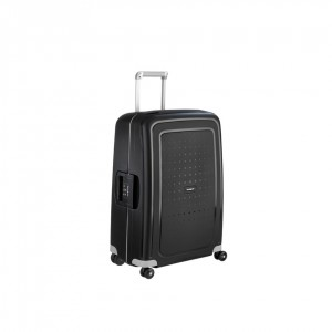 SAMSONITE S'CURE SPINNER 75CM-AQUA BLACK Hardside 10U11703