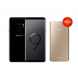 Samsung Galaxy S9 Plus 64 GB (Midnight Black) With Free Samsung Power Bank