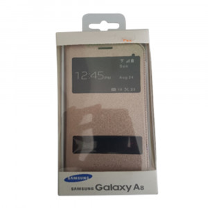 Samsung Galaxy A8 double window case cover