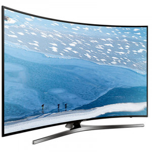 "Samsung UA55KU7500 55"" 4K UHD Curved LED Smart TV"