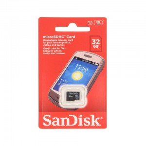 SanDisk 32GB Mobile MicroSDHC Class 4 Flash Memory Card With Adapter- SDSDQM-032G-B35A