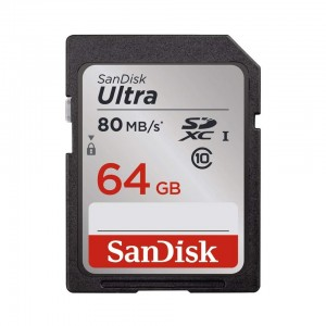 SanDisk 64GB Ultra Class 10 SDHC UHS-I Memory Card(SDSDUNC-032G-GN6IN)