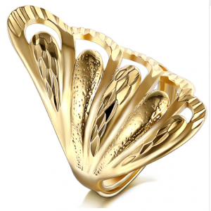 Luxury Gold Color Ring