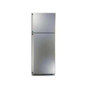 SHARP SJ-48C(SL) Refrigerator No Frost 385 Liter, Silver