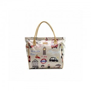 Emily Louise Shopper Bag - London