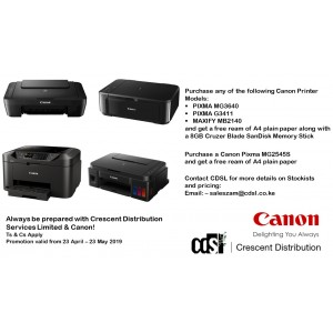 Canon - PIXMA MG3640 All In One Color MFP