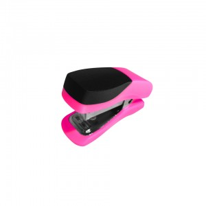 Single Mini Pink Plastic Stapler ST3051P