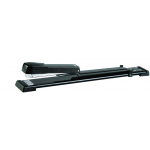 Long Reach Stapler 210*(24/6 26/6) 20 Pages (Black)