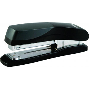Stapler Plastic Large 210*(24/6 26/6) 20 Pages (Black)
