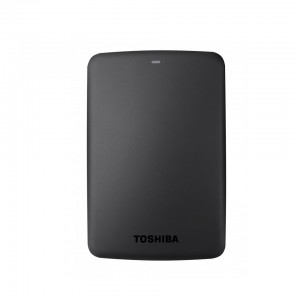Toshiba Canvio Basics 2TB Portable External Hard Drive 2.5 Inch USB 3.0 - Black - HDTB320EK3CA
