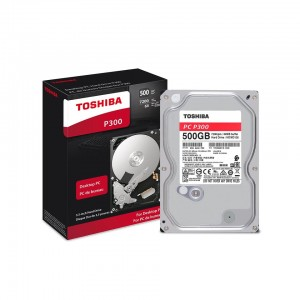 "Toshiba Internal HDD P300-500GB-72000RPM SATA-3.5"" HDWD105UZSVA"