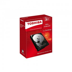 Toshiba P300 High Performance 3TB Internal Hard Drive 3.5 Inch SATA - HDWD130EZSTA
