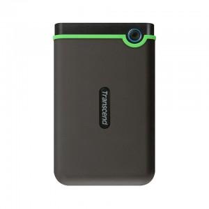"""Transcend StoreJet M3 500 GB USB 3.0 External Hard Drive TS500GSJ25M3 2.5""""/GSJ25M3/Rug/antishck Black"""