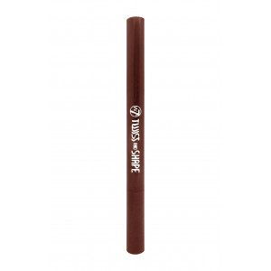 W7 Twist And Shape Combi Eyebrow Pencil (Brown)