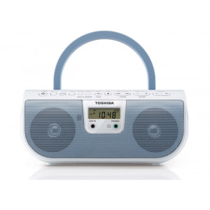 Toshiba TY-CRU8-L Portable CD Radio Player (Blue)