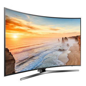 "Samsung UA65KU7500 65"" 165cm Smart Curved UHD LED TV"