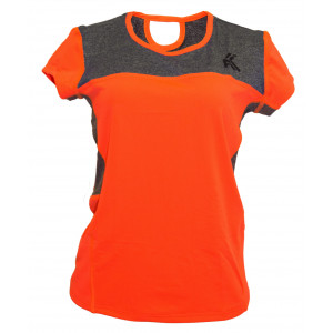 Women's Tech T shirt( Orange)